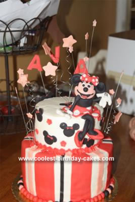 Minnie Mouse Birthday Cake on Coolest Minnie Mouse Birthday Cake 27