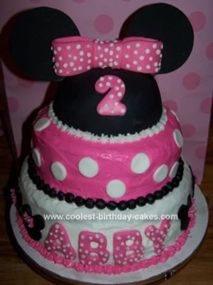 Minnie Mouse Birthday Cakes on Coolest Minnie Mouse Birthday Cake 47 21333302 Jpg