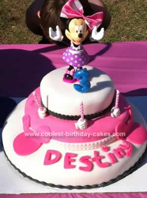 Minnie Mouse Birthday Cakes on Coolest Minnie Mouse Birthday Cake Design 75