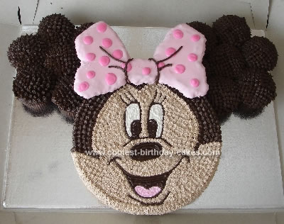 Minnie Mouse Birthday Cake on Coolest Minnie Mouse Cake 22