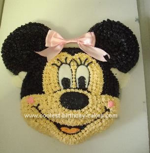 Minnie Mouse Birthday Cakes on Coolest Minnie Mouse Cake 23 21350564 Jpg