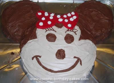 Minnie Mouse Birthday Cake Pan Image Inspiration of Cake and