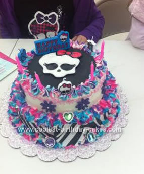 Coolest Monster High Birthday Cake Birthday Party Ideas