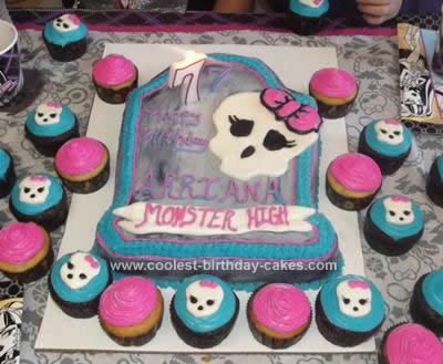 Transformers Birthday Cake on Pin Homemade Monster High Draculaura Birthday Cake Cake On Pinterest