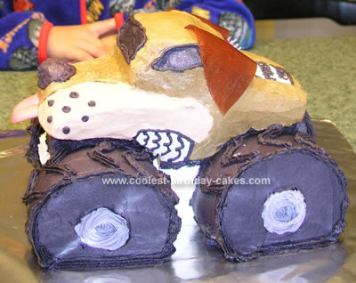 Monster Truck Cake Design Monster Truck Birthday Cake on
