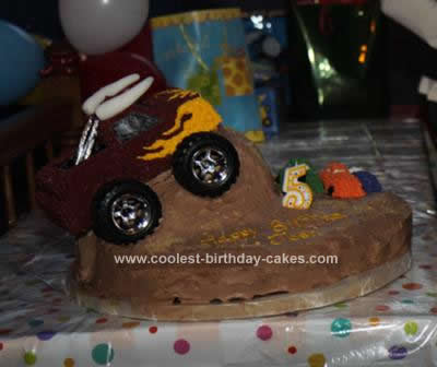 Monster Truck Cake Design Truck Birthday Cake Design