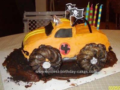 Monster Truck Cakes 3