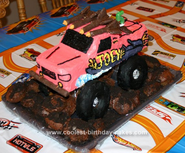 Thomas Birthday Cake on Coolest Monster Truck Birthday Cake Design 87