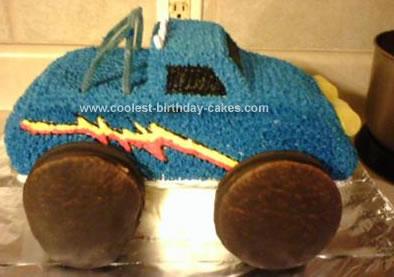 Monster Truck Cakes 11