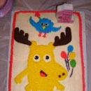 Moose A Moose Birthday Cakes