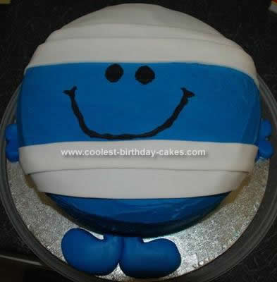 Mr. Men Cake Photo