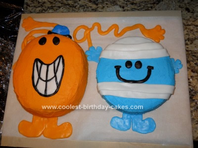 birthday cake pictures for men. Coolest Mr. Men Birthday Cake