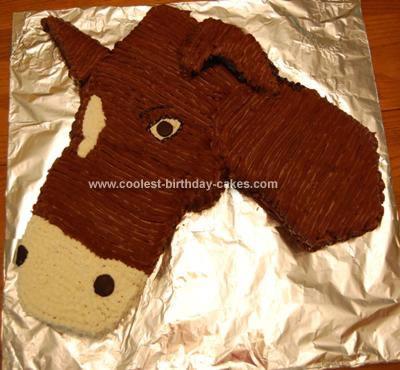Homemade Mule Cake