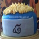 Naruto Birthday Cakes