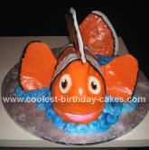 Homemade Nemo Cake
