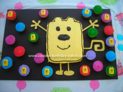 WoW WoW Wubbzy cupCAKEs by Stephanie (GUCCImomma)