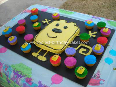 Coolest Nick Jr WoW WoW Wubbzy Cake and Cupcakes