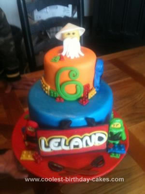 Coolest Ninjago Birthday Cake 82