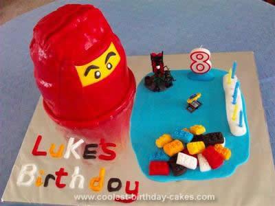 Homemade Ninjargo Birthday Cake