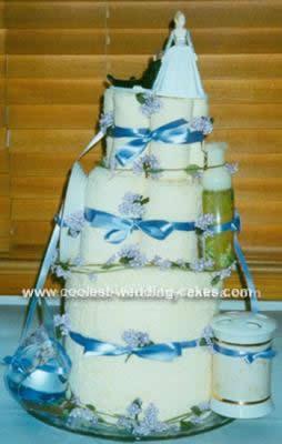 Coolest Non Edible Bridal Shower Cake