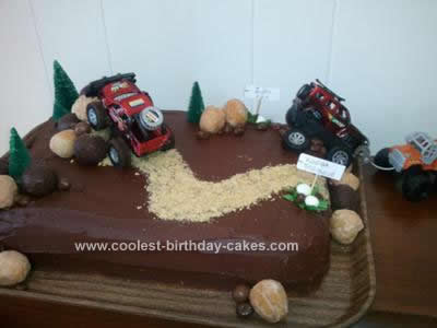 Offroad Truck Cake