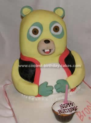 Homemade Oso Cake