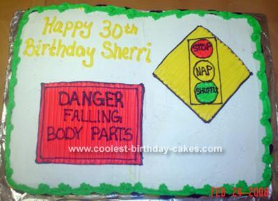 Pink Green Ladybug Cake Birthday Party Ideas
