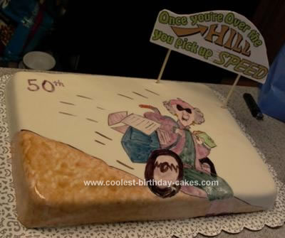 Coolest Over The Hill Cake 17