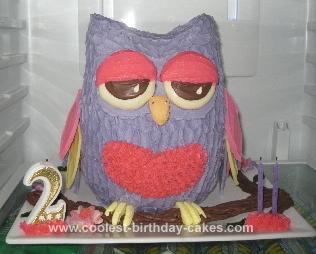 Coolest Owl Birthday Cake 14