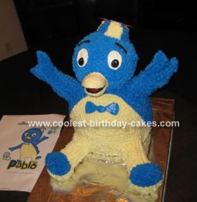 Pablo the Penguin Cake