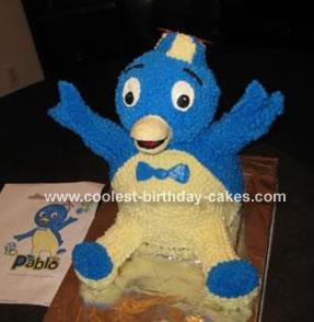 Pablo the Penguin Cake