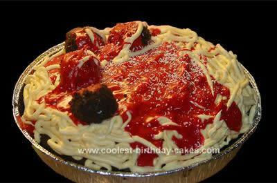 Homemade  Pasta-to-Go Cake