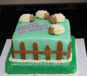 Lamb And Sheep Cakes 1