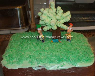 Coolest Phineas and Ferb Cake