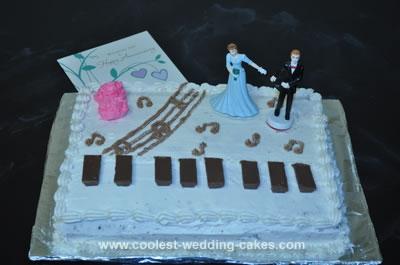Piano Anniversary Cake