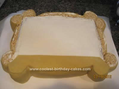 Homemade Picture Frame Cake