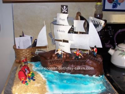 Baby Christmas Picture Ideas on Coolest Pirate Cake 89