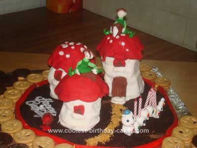 Homemade Pixieland Birthday Cake