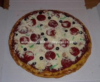 Homemade Pizza Cale