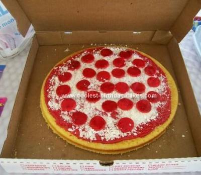 Homemade Birthday Cakes on Homemade Pizza Cake