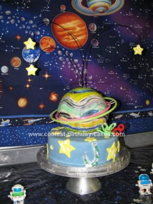 science themed cake