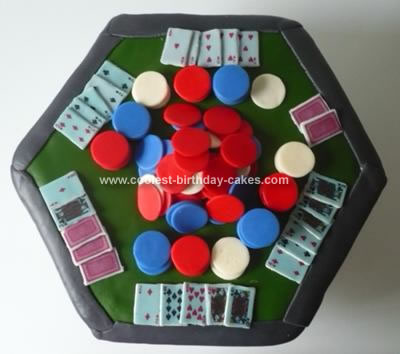 Homemade Poker Table