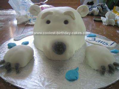 Polar Bear 03, Polar Bear Cake