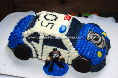 Birthday Cake on Coolest Police Swat Car Birthday Cake 8