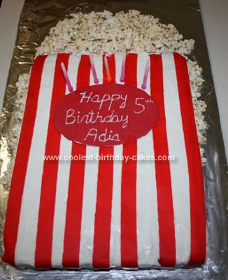 Coolest Popcorn Birthday Cake 12. by Jen L. (Seaside, CA )