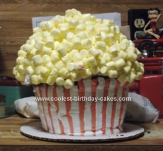 Birthday Cake Popcorn on Pin Popcorn Cupcake Cake Cake On Pinterest