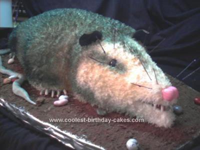 Homemade Possum Cake