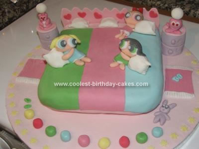 Powerpuff Girl Cake Photo