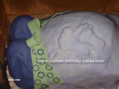 pregnant lady cake. hot stock photo : Pregnant