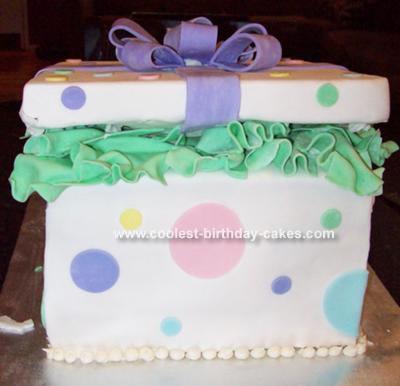 Coolest Present Cake 20